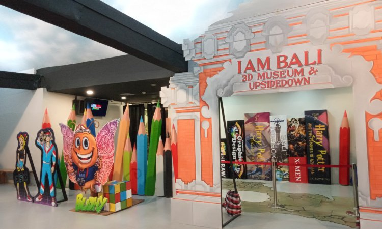 I AM Bali 3D Museum and Upside Down